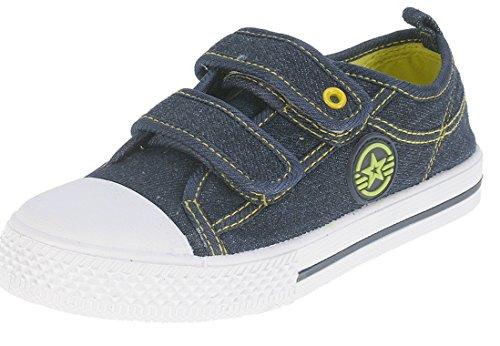 Beppi, Sneaker bambini, Blu (Blu navy), 27