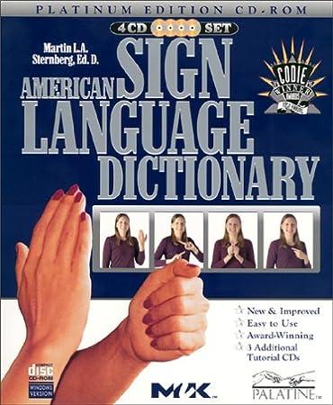 American Sign Language Dictionary Platinum Edition