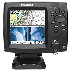 Humminbird 4089501 598Ci HD SI Combo Side Imaging Down Imaging DualBeam Fishfinder and GPS by Humminbird