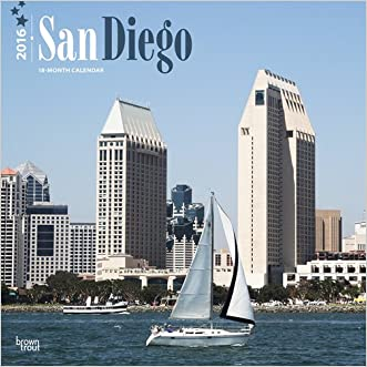 San Diego 2016 Square 12x12 written by Browntrout Publishers