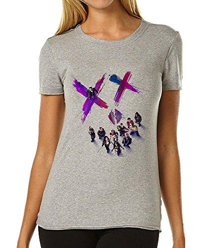 Suicide Squad Characters Smile XX Fan Art maglietta da donna XX-Large