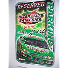 BOBBY LABONTE 11x17 Reserved Parking Sign by NASCAR