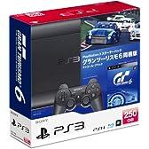 PlayStation 3 スターターパック グランツーリスモ6同梱版 チャコール・ブラック (15周年アニバーサリーカー「Nissan GT-R NISMO GT3 15th Anniversary Edition」DLコード 同梱)+(早期購入特典:5種がダウンロードできるプロダクトコード付)