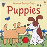 Fiona Watt The Usborne Big Touchy Feely Book of Puppies (Touchy-Feely Board Books)