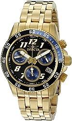Invicta Men's 20098 Pro Diver Analog Display Quartz Gold Watch