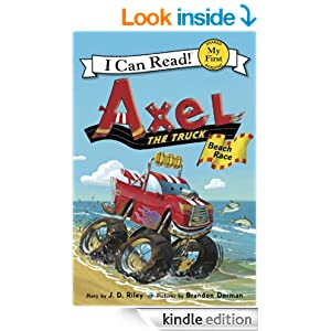 Axel the Truck: Beach Race: My First I Can Read