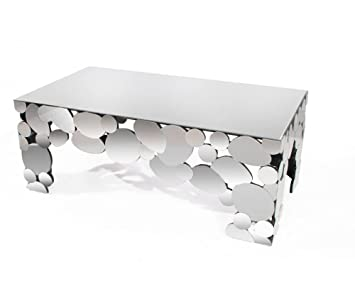 Table basse design miroir Phoenix