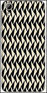 Snoogg Abstract Pattern Designer Protective Back Case Cover For HTC Desire 626