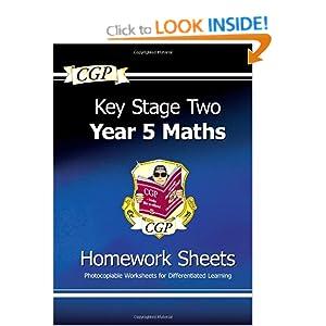 maths homework books ks2