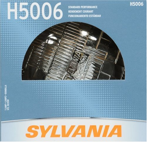Sylvania H5006 Standard Round Halogen Headlight Bulb (35 Watt Low Beam), (Pack Of 1)