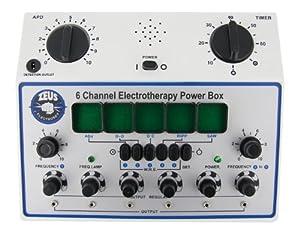 Zeus Electrosex 6 Channel Deluxe Electrosex Power Box