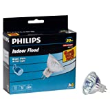 Philips 406009 Landscape and Indoor Flood 50-Watt MR16 12-Volt Light Bulb, 6-pack