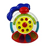 Musical & Flashing Train Engine Toy With Flashing Lights & Melodious Sounds - For Babies Ages 18 Months +