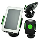 Windscreen In Car Suction Mount Holder with FULL 360 Degrees Rotation for HTC Evo View Flyer JetStream Nexus 9