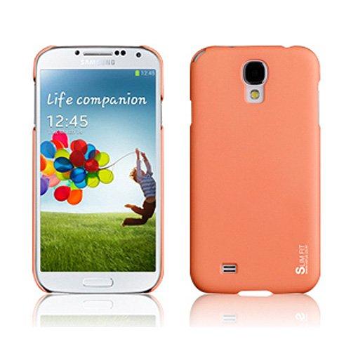 Verus Case, Ultra Thin S4, Samsung Galaxy S4 / S4 Lte Case, Include Screen Protector, Matt Vivid Super Slim Fit Hard Pc (Check At&T, Verizon, Sprint, T-Mobile Wireless Mobile) - Retail Package (Coal Orange)