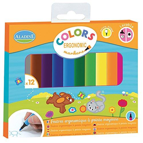 aladine-2080584-marqueurs-ergonomique-colors-12-pieces