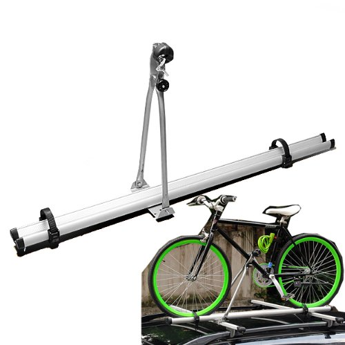 Universal Bike Bicycle Carrier Rack Roof Mount Rooftop Upright Car SUV Van