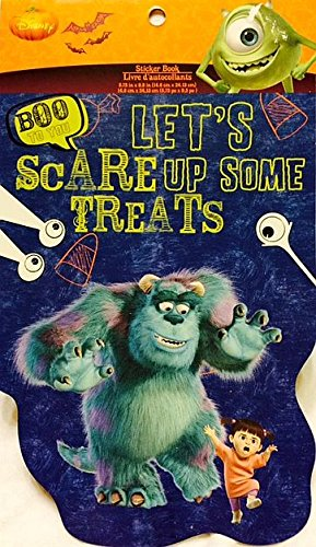 Monster Inc. Halloween Stickers- 5 Sheets - 1