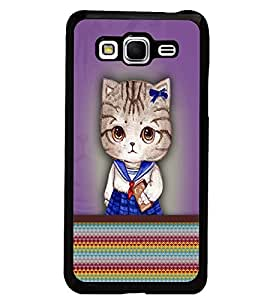 PrintDhaba Kitty D-3759 Back Case Cover for SAMSUNG GALAXY GRAND PRIME (Multi-Coloured)