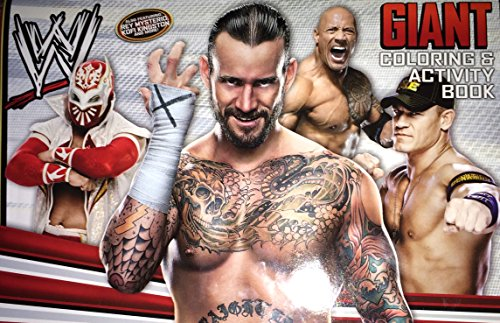 WWE Giant Coloring & Activity Book