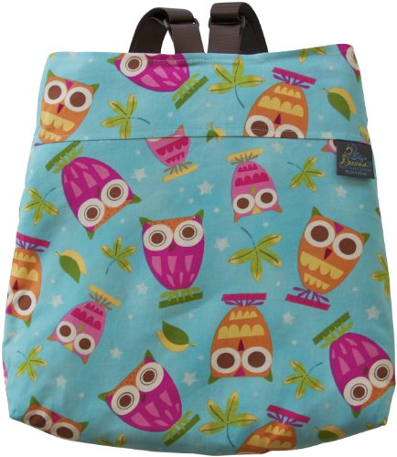 Sky Dreams Travel Blanket Kaianna Owl Magic Backpack Muticolored front-257130