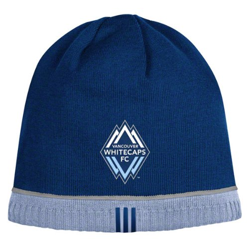Vancouver Whitecaps Reversible adidas Authentic Player Knit Hat