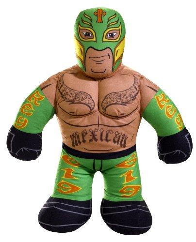 WWE Brawlin' Buddies Rey Mysterio Plush Figure (Colors may vary) (Rey Mysterio Wwe)