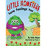 (Children's Ebook) Little Monsters Have Feelings Too! Beautifully Illustrated Patterned Rhyming Book Teaching...