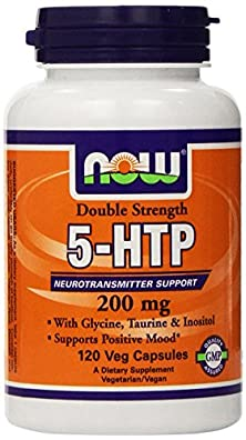 buy Now Foods: 5-Htp Neurotransmitter Support 200 Mg, 120 Vcaps