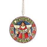 Jim Shore Dated Christmas Ornament 2014