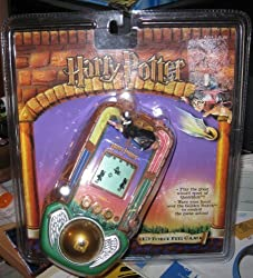 Harry Potter LED Force Feel Quidditch Game Handheld Tiger Electronics