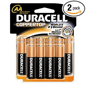 Duracell Batteries, AA Size, 16-Count Packages (Pack of 2) Reviews