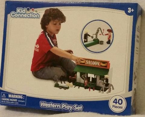 Western Play Set - Saloon By Kid Collection
