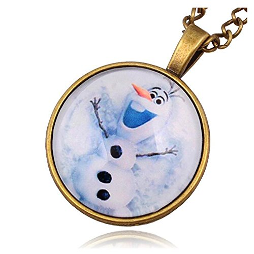 Luck-Wang-Woman-Unique-Fashion-Temperament-Christmas-Gift-Snowman-Necklace