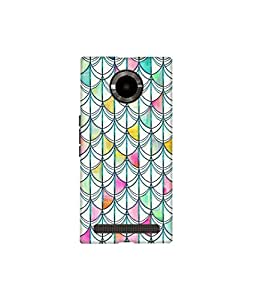 Kolor Edge Printed Back Cover for Micromax Yu YuPhoria - Multicolor (4396-Ke10506MmxYuphoriaSub)