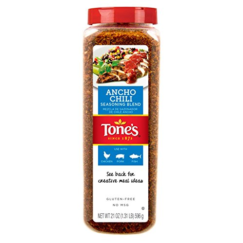 Tone's Ancho Chili Seasoning Blend (21 oz.) (Chili Spice Blend compare prices)