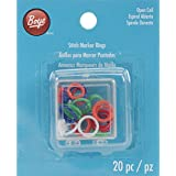 Boye Stitch Marker Rings (20 Pack)