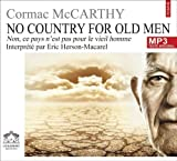 echange, troc Mccarthy/Cormac - No Country,for Old Man/1 CDMP3/Texte intégral