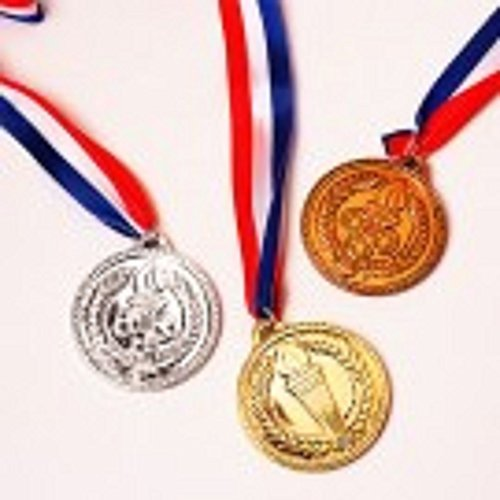 U.S. Toy Gold Medals, Pack of 12, 1.5-Inch (Medals Gold Silver Bronze compare prices)