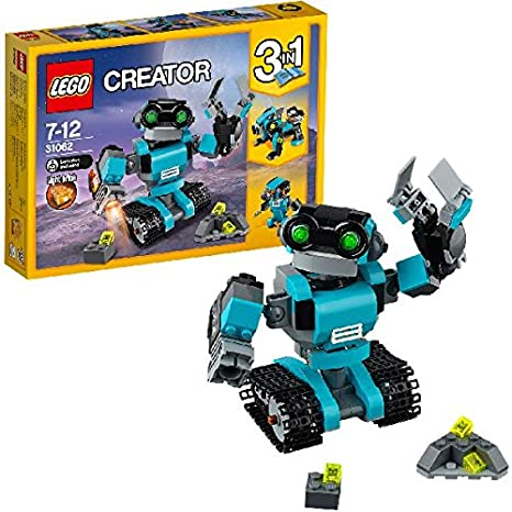 LEGO - 31062 - Creator - Jeu de Construction - Le Robot Explorateur