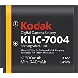 Kodak KLIC-7004 Li-Ion Rechargeable Battery for Kodak Digital Cameras & Kodak Zi8 Pocket Video Camera