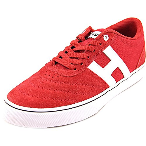 HUF Men's Galaxy Athletic Inspired Skate Shoe, Chili Pepper, 9.5 M US