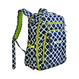 Ju-Ju-Be Be Right Back Backpack Diaper Bag with Insulated Bottle Pockets, Royal Envy