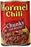Hormel Chunky Chili with Beans, 15-Ounce (Pack of 6)