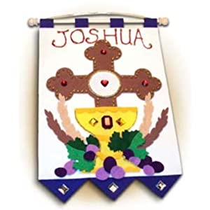 First Communion Banner Kit Colors 2