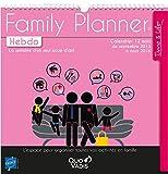 Quo Vadis - Time & Life - Calendrier Family Planner Hebdo - Agenda Scolaire 30x30 cm - Année 2015-2016