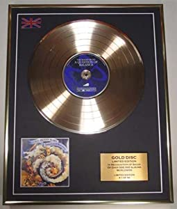THE MOODY BLUES/LTD EDITION CD GOLD DISC/'A QUESTION OF BALANCE'/(THE MOODY BLUES)