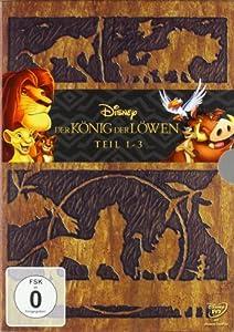 Der König der Löwen - Teil 1-3 [3 DVDs]