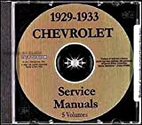 img - for 1929 1930 1931 1932 1933 CHEVROLET CARS REPAIR SHOP & SERVICE MANUAL CD INCLUDES Phaeton, Roadster, Coupe, Sedan, Coach, Convertible Landau, Cabriolet, Independence, series AE-LT, Confederate, BA, BB, Standard, Eagle, Sedan Delivery, CHEVY book / textbook / text book