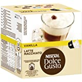 Nescafé Dolce Gusto Latte Macchiato Vanilla, 3er Pack (48 Kapseln)